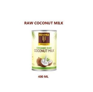 Resona Organic Raw Coconut Milk 400m