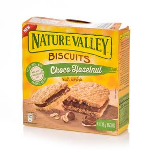 Nature Valley Biscuit Choco Hazelnut Box 4x38g
