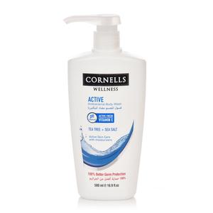 Cornells Antibacterial Body Wash Active 500ml