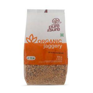 Pure & Sure Organic Jaggery Powder 500g
