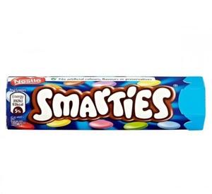 Nestle Smarties Hexatube 38g