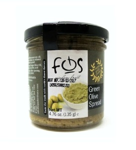 FOS Green Olive Spread 135g