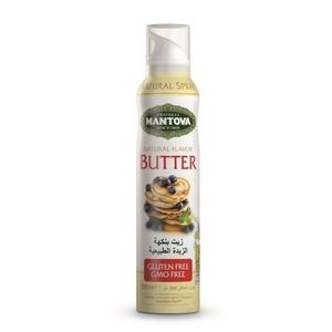 Mantova Butter Flavor Sunflower Oil Spray 200ml