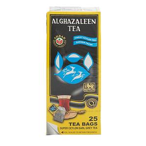 Al Ghazaleen Tea Bags Early Grey 25x2g