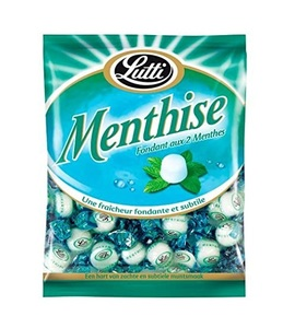 Lutti Menthise Mint Fond/Candy 100g