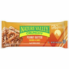 Nature Valley Crunchy Granola Bars Oats And Peanut Butter Box 5x42g