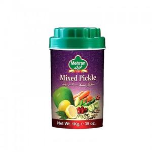 Mehran Mixed Pickle Plastic Jar 1kg