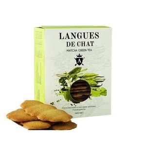 Asterisk Kitchen Langues De Chat Matcha Green Tea 140g