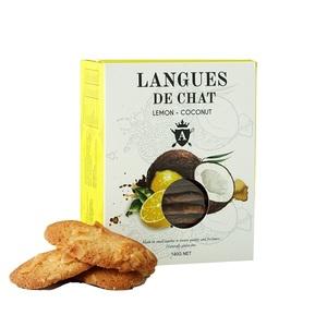 Asterisk Kitchen Langues De Chat Lemon & Coconut 140g