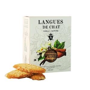 Asterisk Kitchen Langues De Chat Vanilla & Almond 140g