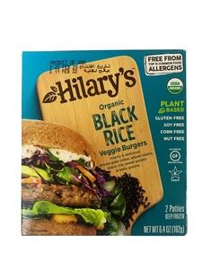 Hilarys Veggie Burger Black Rice 6.4oz