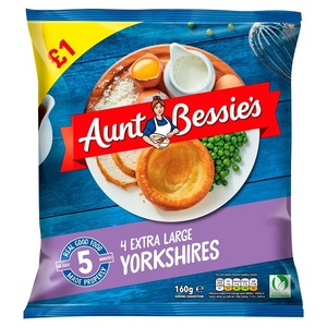 Aunt Bessie's Extra Large Yorkshire Pudding 10s