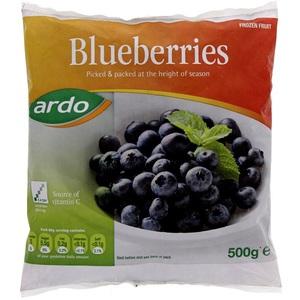 Ardo Frozen Blueberries 500g