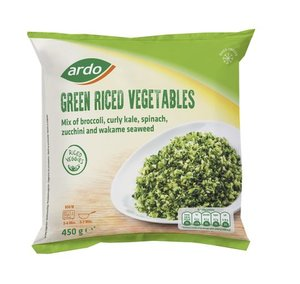 Ardo Green Riced Vegetable 450g