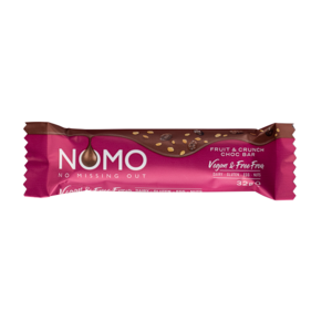 Nomo Vegan Choco Fruit Crunch Gluten Free 32g