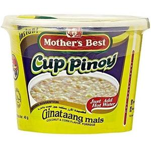 Mother's Best Cup Pinoy Ginataang Mais 40g