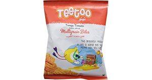 Teetoo Multigrain Bites Tangy Tomato 16g