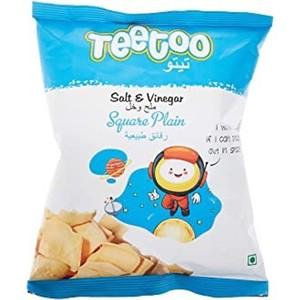 Teetoo Square Plain Salt And Vinegar 16g