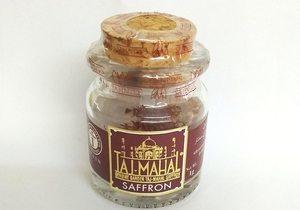 Taj Mahal Saffron Jar 1g