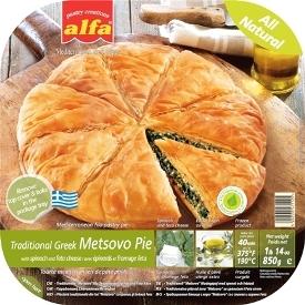 Alfa Pie Metsovo Spinach & Feta 450g