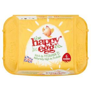 Happy Premium Eggs Medium 30s