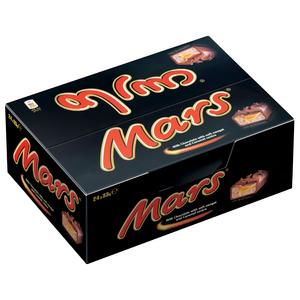 Mars Chocolate Bars 24x33g