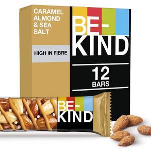 Be-Kind Caramel Almond & Sea Salt Protein Bar 12x40g