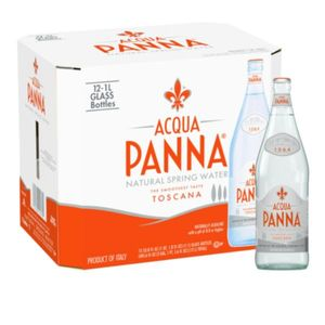 Acqua Panna Sohat Natural Mineral Water Glass 12x1l