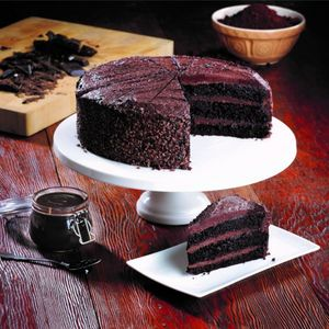 Vegan Belgian Chocolate Cake 14pcs