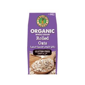 Organic Larder Rolled Oats Gluten Free 500g