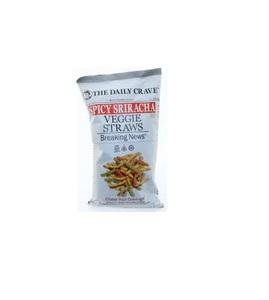 The Daily Crave Veggie Straws Spicy Srircha 156g