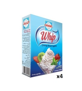 Green's Whipping Cream 4x152g
