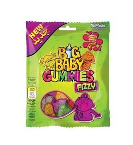 Bazooka Big Baby Gummies Fizzy Candy 100g