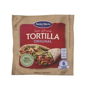 Santa Maria Wrap Original Tortilla 371g