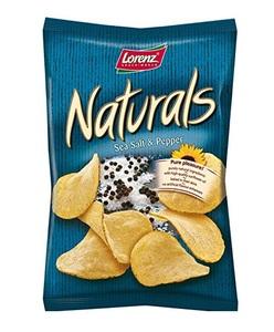 Lorenz Chips Natural Salt And Pepper 100g