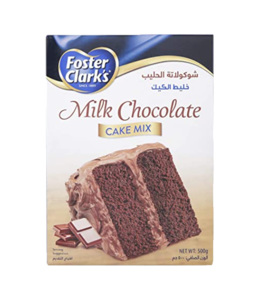 Foster Clark Milk Chocolate Cake Mix 500g