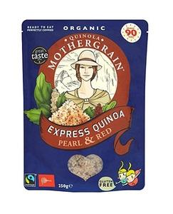 Mother Grain Quinoa Pearl & Red 250g