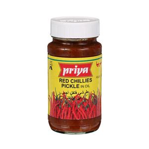 Priya Red Chilli Pickle In Oil 300g