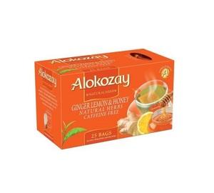 Alokozay Ginger & Honey Heat Seal 25s