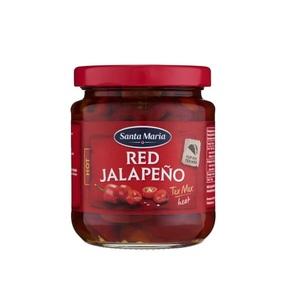 Santa Maria Red Jalapenos Hot 215g