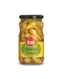 Pickled Hot Yellow Peppers 330g