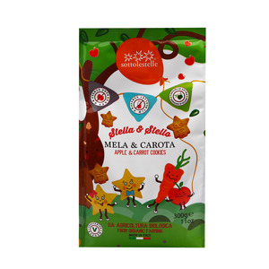 Sottolestelle  Apple & Carrot Cookies 300g