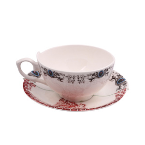 Tea Cup With Saucer Zora 1pc