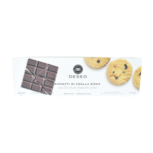 Deseo Biscuits With Dark Chocolate 160g