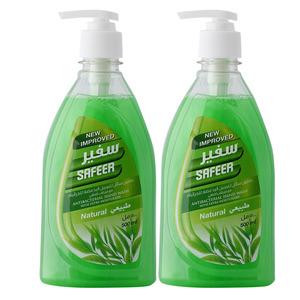 Safeer Natural Hand Wash 2x500ml