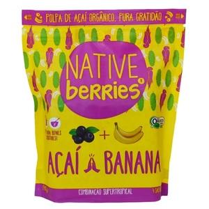Native Berries Acai Banana Organic 200ml