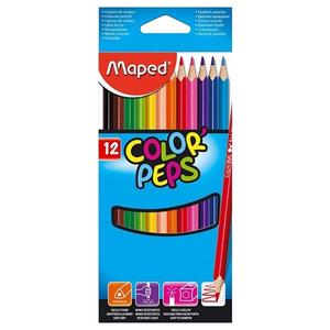 Maped Color Peps Pencils 12Colour Set 1set