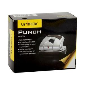 Unimax Hole Punch Black 16s