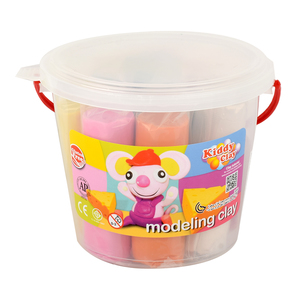 Kiddy Clay Modelling Clay 8colors