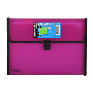 Foldermate Expanding File Assorted 12pockets